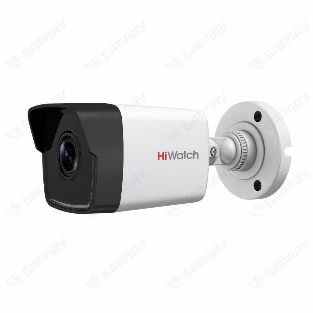 Цилиндрическая <b>IP</b> видеокамера <b>HiWatch DS</b>-<b>I400</b> (DS-I41K)